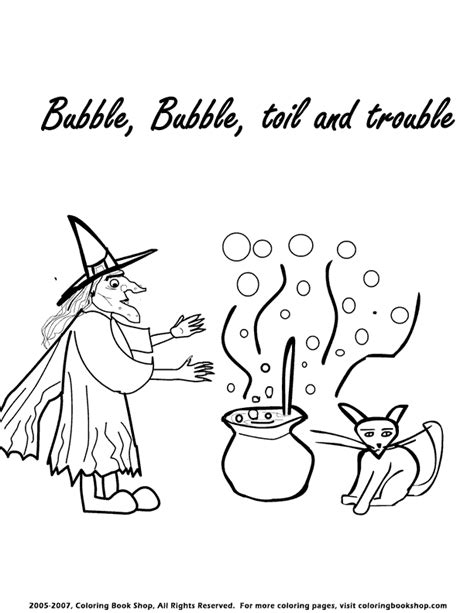 witch cauldron coloring page cauldron coloring pages