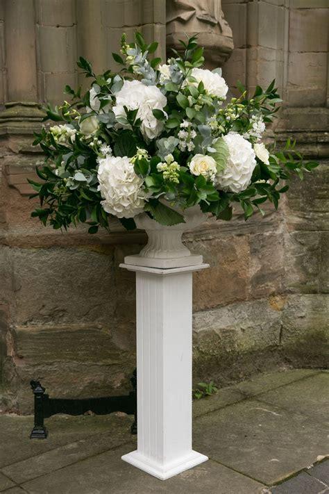 Wedding Floral Arrangements by Featured Wedding Cathedral Wedding