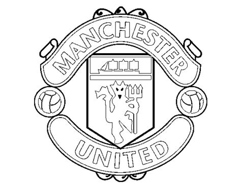 Manchester United Coloring Pictures