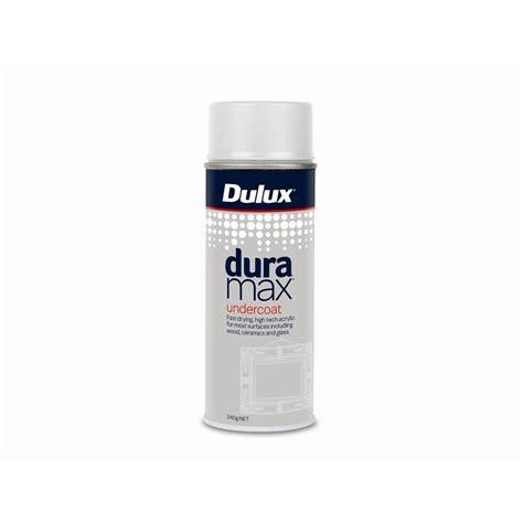 spray paint undercoat dulux duramax 340g undercoat spray paint bunnings warehouse