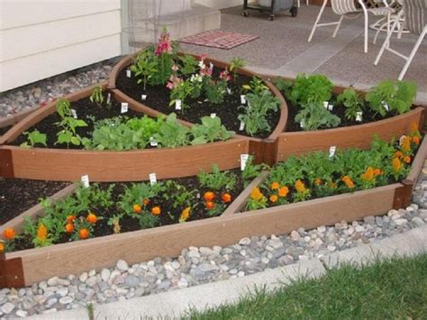 Cheap Raised Garden Bed Ideas Garden Bed Ideas On Frontyard And Backyard Homescorner