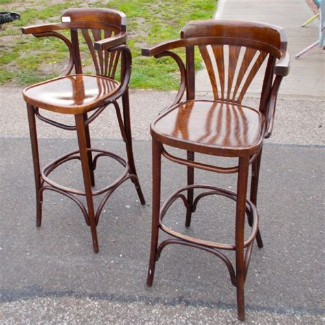 Bar Stools Perth Western Australia by Pair Of Bentwood Bar Stools Stools Antique Furniture South Perth Antiques Collectables