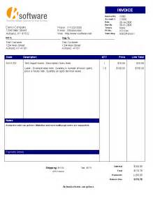 professional invoice template invoice example