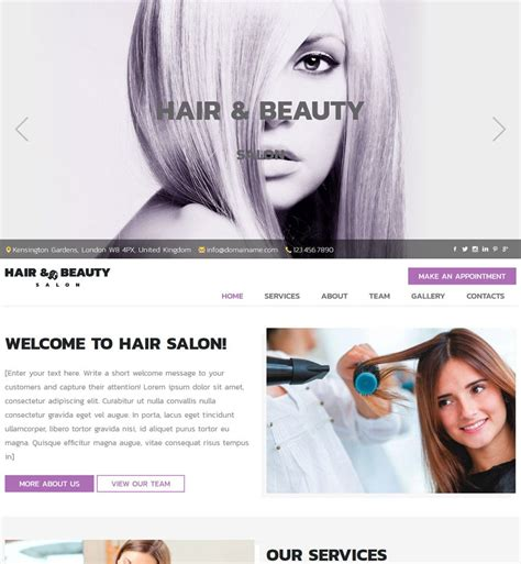 exles of hair websites hairstyle website hairstyles by unixcode