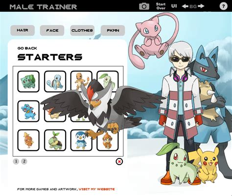 pokemon trainer girl creator pokemon trainer creator deviantart images pokemon images