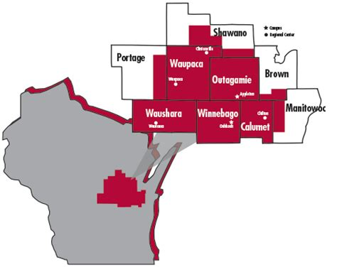 map of appleton wi locations maps fox valley technical college