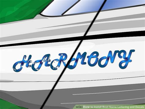 boat lettering decals online how to install boat name lettering and decals 11 steps