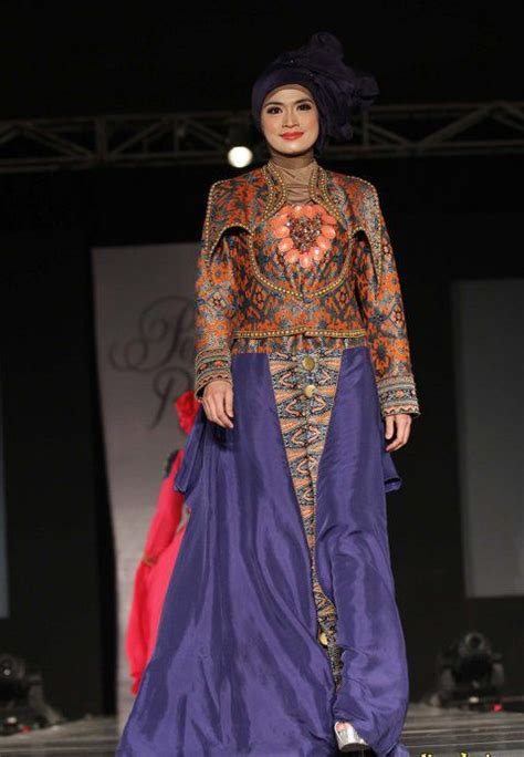 Busana Muslim Modern Remaja 3 model baju muslim batik remaja modern model busana