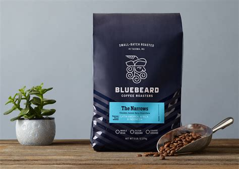 coffee roasters bluebeard coffee roasters the dieline packaging