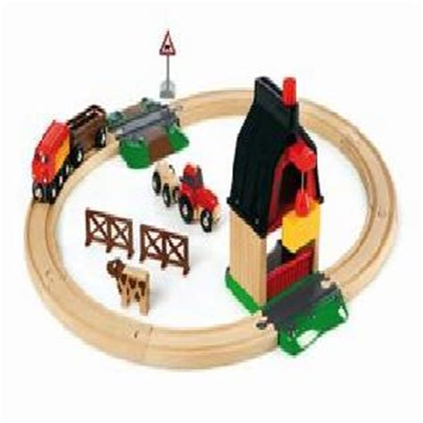 brio farm set brio farm railway set buy toys from the adventure toys