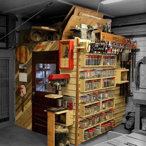 french cleat shop storage wall loft jackman works