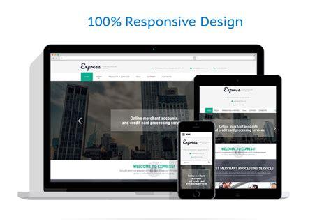 html responsive design layout business website template 53845 templates com
