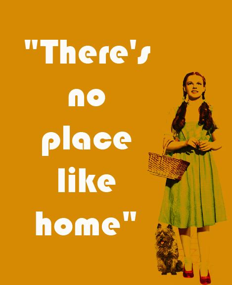 dorothy proclaims that there s no place like home but