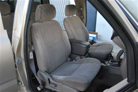 99 tacoma aftermarket seats toyota tacoma 2000 2004 leather like custom seat cover ebay