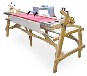 summit hardwood machine quilting frame quilting frames