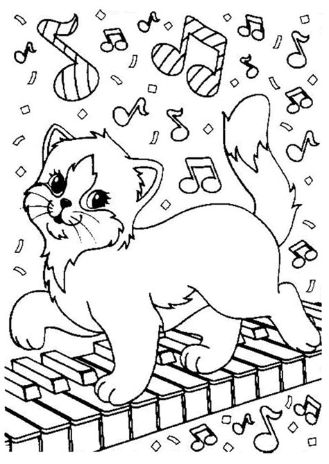 lisa frank cat coloring pages cute coloring pages