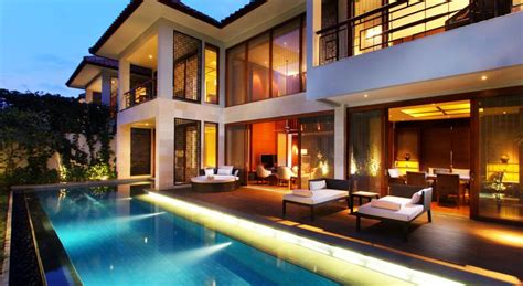 villas  fairmont sanur beach bali indonesia