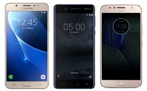nokia 5 vs motorola moto g5s vs samsung galaxy j7 price in india specifications and features