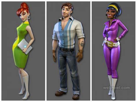 design by humans models 25 beautiful 3d human models 3d men and women models