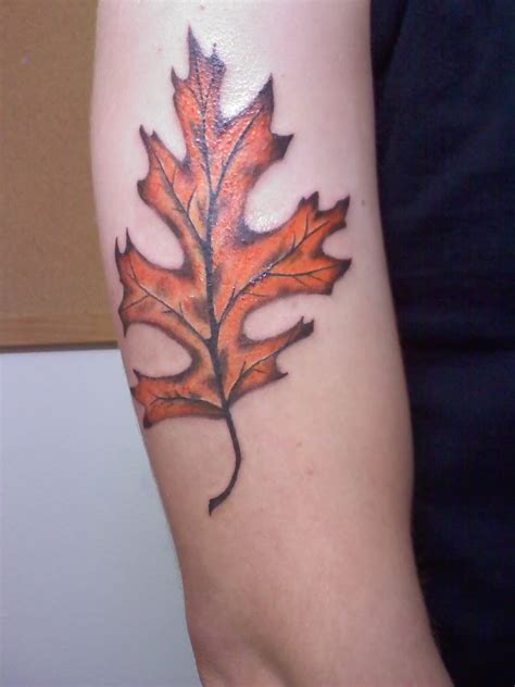 leaf tattoos page 2
