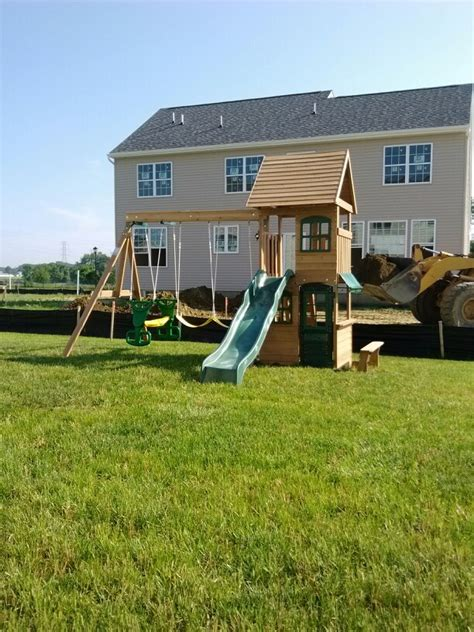 big backyard ashberry wood swing set big backyard windale big backyard windale wooden swing set