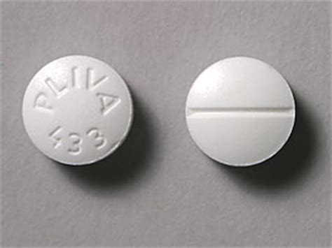 trazodone for sedation pliva 433 pill images white