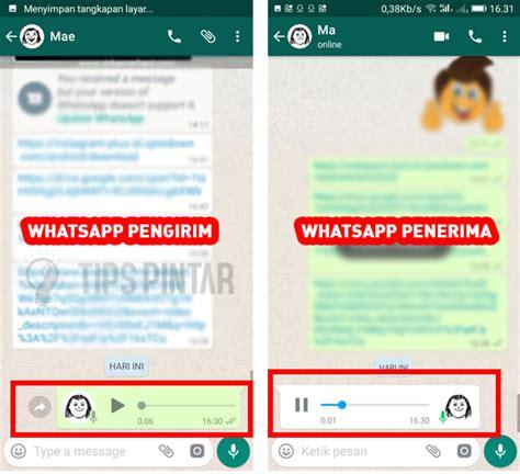 mematikan centang biru  voice note  whatsapp
