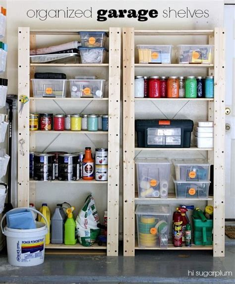 how to organize a garage garage organization tips