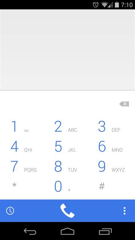 android dialer شاهد بالصور شكل تطبيق الاتصال الجديد في الاندرويد 4 4 3 الجديد