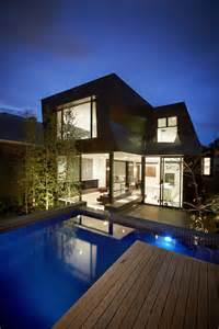 modern traditional house enclave house in melbourne australia by bkk architects