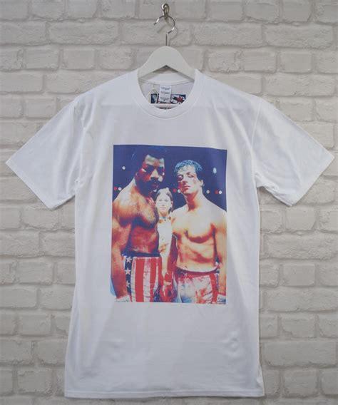 T Shirt Apollo Creed Okin uptown classics rocky apollo creed stallone cult white