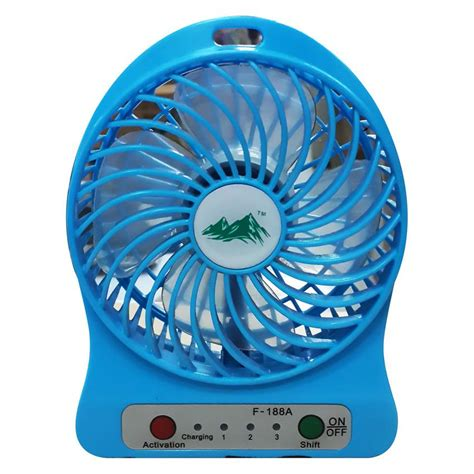 Kipas Turbin jual usb mini fan kipas angin rechargeable f 188 harga
