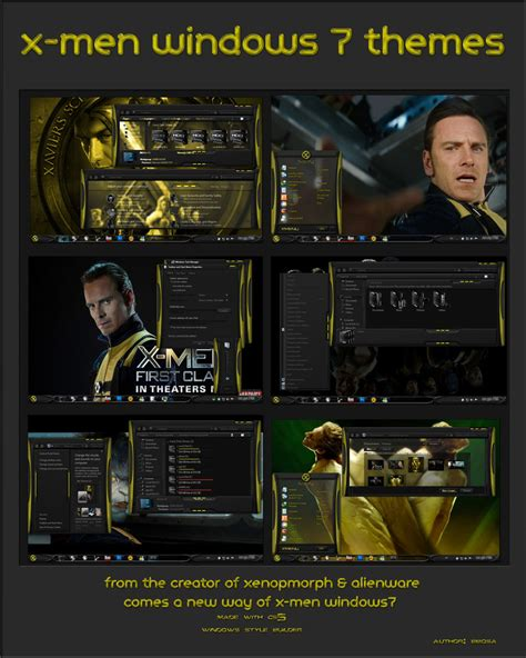 theme music of x men first class index of download theme x men first class for windows 7
