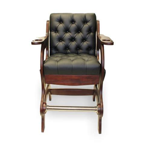 billiard spectator bench symphony spectator chair mojave finish american heritage