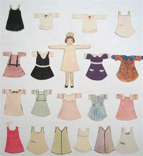 Handmade Paper Dolls - handmade paper dolls collectors weekly