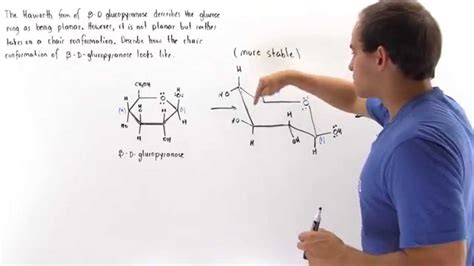 Chair Conformation Chair Conformations Of Glucose Youtube