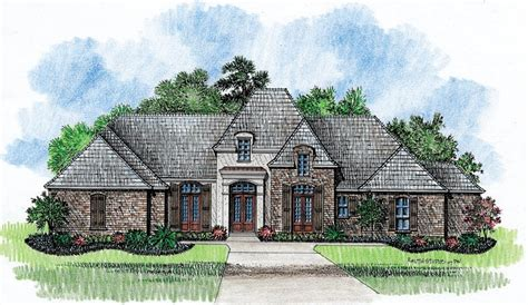 French Country Cottage Plans by Riveria Country French Home Plans