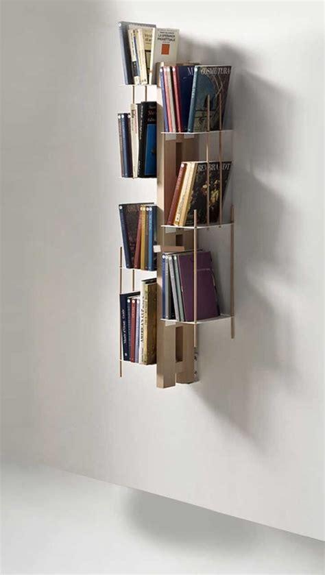libreria sospesa a muro zia libreria sospesa a muro in legno e metallo 65 cm