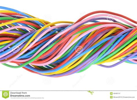 electric colored wires
