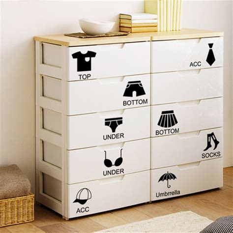 bedroom locker storage dsu removable home decor wall sticker locker bedroom chest