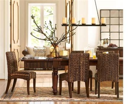 Pottery Barn Dining Room Chairs Pottery Barn Dining Room Dining Room Pinterest