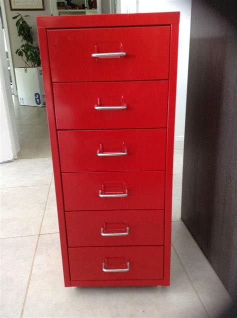 Maxwell Metal File Cabinet Walmart   Red File Cabinets