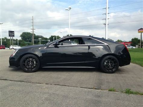 buy used 2012 cadillac cts v coupe 2 door 6 2l in hiawatha
