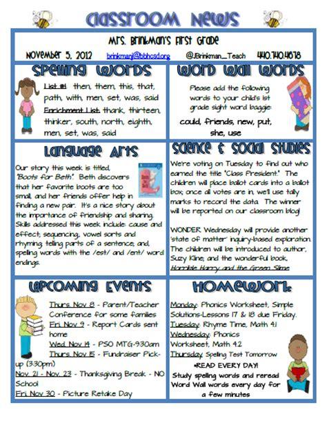 november newsletter template newsletter template november images
