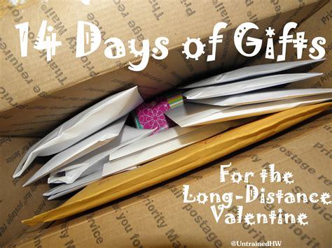 distance valentines ideas 14 days of gifts for the distance