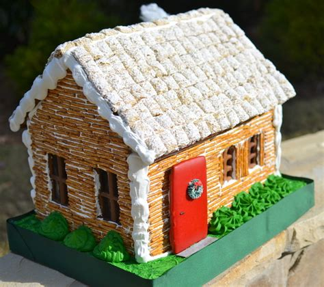 gingerbread log cabin template how to build a bread log cabin house recipe