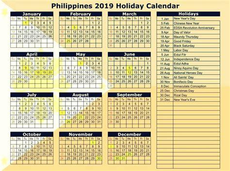 philippines  calendar  holidays printable calendar  printable calendar calendar