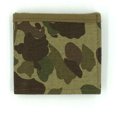 army pattern wallet at the front wwii camo wallet soldier systems daily