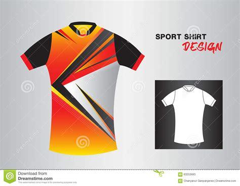 sport t shirt design templates sport shirt vector design stock vector illustration