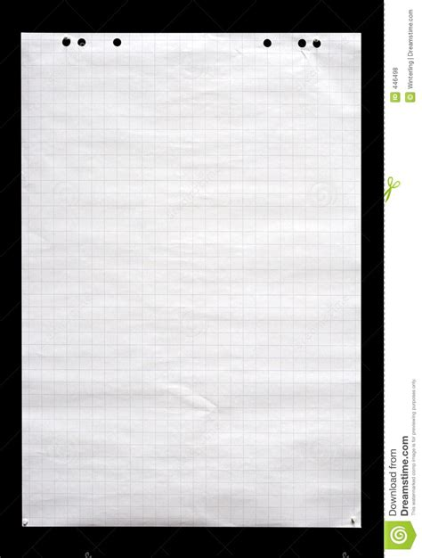 How To Make A Flip Chart With Paper - flip chart sheet w path stock photo image of board